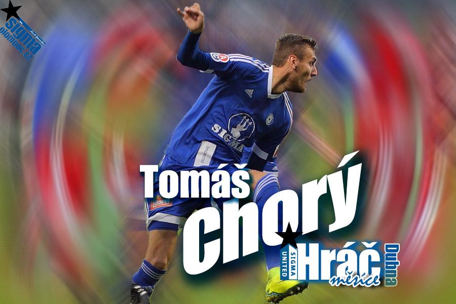 A hráčem měsíce Dubna 2017 se naprosto jednoznačně stal Tomáš Chorý