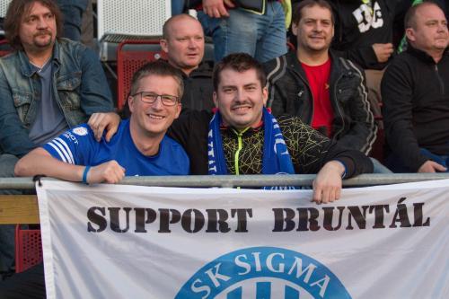 Fanoušci Sigmy z Bruntálu