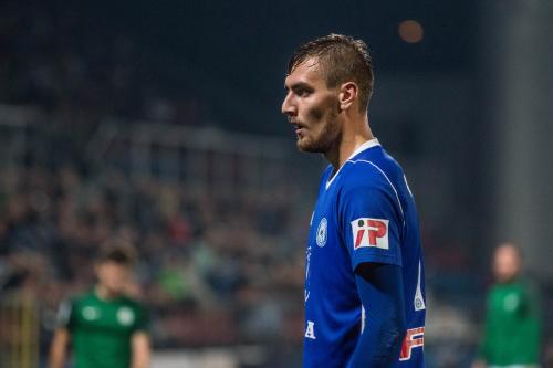 Tomáš Chorý soustředěný na utkání