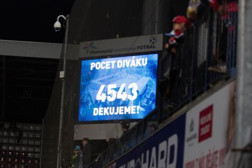 4543 diváku na utkání, slušná návštěva ale stále by mohlo být víc