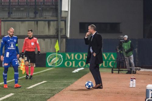 Michal Vepřek, Václav Jílek - Kapitán a trenér Sigmy Olomouc