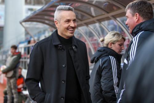 trenér U12 SK Sigma Olomouc Tomáš Janotka