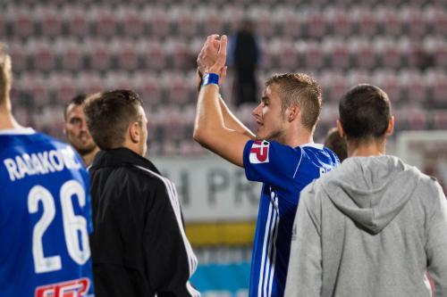 Kuba Plšek děkuje fanouškům