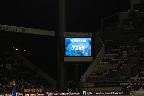 7259 diváků, přesně tolik navštívilo toto utkání dle oficiálního údaje