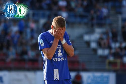 I takové jsou momenty ve fotbale, smutek a obličej v dlaních - Jakub Plšek
