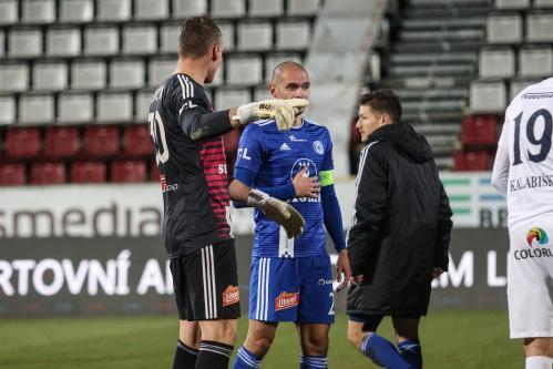 Miloš Buchta, Michal Vepřek a Václav Pilař, stařešinové týmu SK Sigma Olomouc