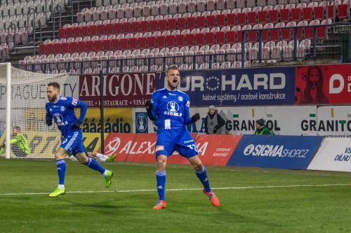 A Beneš slaví svůj první (ligový) gól v dresu Sigmy