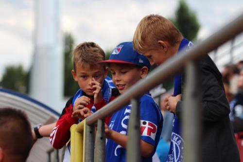 Mládež na tribunách Androva stadionu rozhodně nechybí